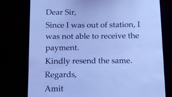 How Many Indianisms Can You Find In This Letter Amalfabian